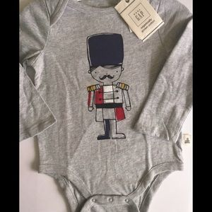 Baby GAP nutcracker onesie